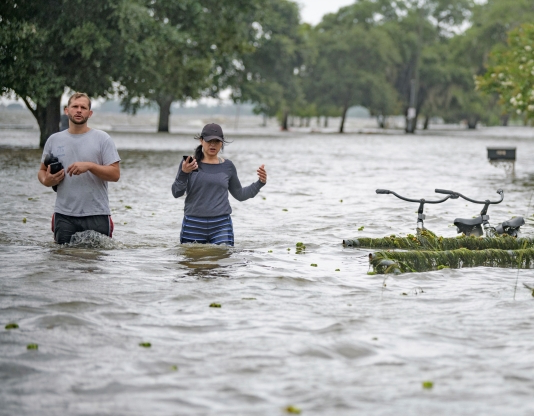 Tropical Storm Barry brings 'significant flooding threat' as officials warn of snakes, alligators in water