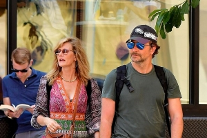 Bradley Cooper keeps a low profile as he grabs lunch with boho-chic pal Laura Dern in New York