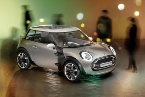 Mini Rocketman resurrected as compact electric car