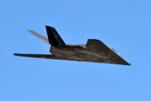 The Retired F-117A Nighthawk Is Doing...Something...in the Desert