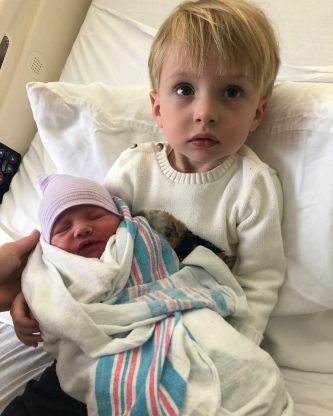 Danielle Fishel and Jensen Karp Take Son Adler Home From the NICU