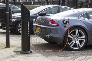 Electric car charging points to be added to all new homes in England by law