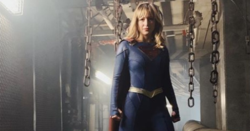 Melissa Benoist talks ditching the skirt in new Supergirl suit: 'It's more adult'