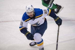 Watch: Robby Fabbri serves spaghetti out of Stanley Cup