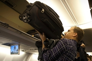 WestJet sued over failed attempt to store overhead luggage