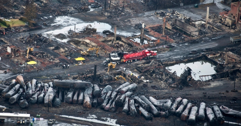 World: A Runaway Train Explosion Killed 47, but Deadly Cargo