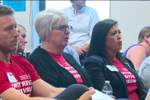Brother of murdered journalist, mother of Parkland shooting victim speak at King County gun violence summit