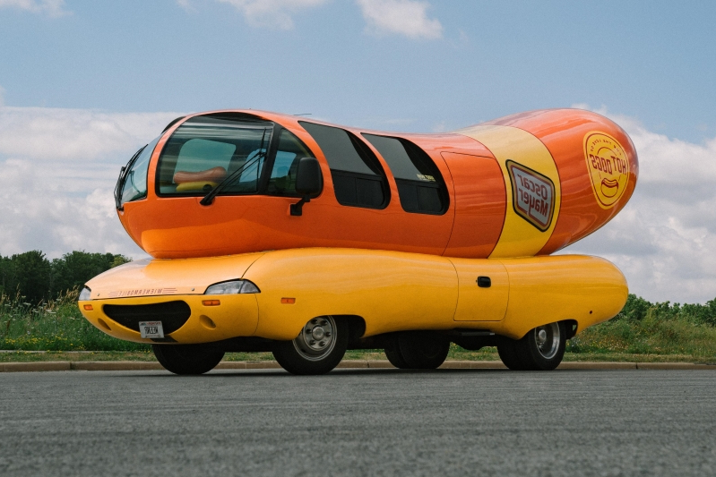 Hot dog fan? You can now stay in a 27-foot long Wienermobile on Airbnb