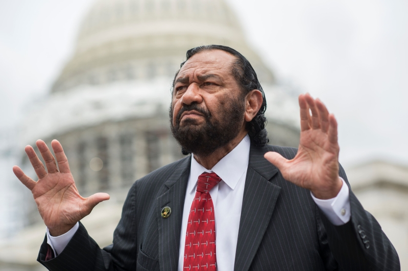 House Democrat's Bid to Impeach Trump Is Expected to Be Rebuffed