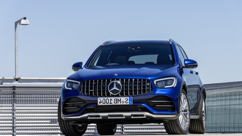 News: 2020 Mercedes-AMG GLC 43 Fills Out Luxury Compact