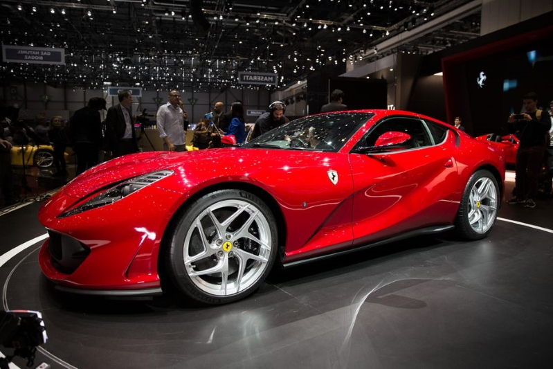 news ferrari may be readying a spider version of the 812 superfast