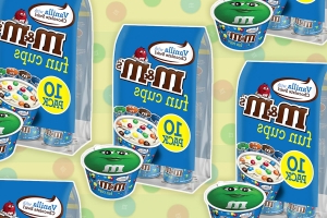 M&M's Fun Cups Combine Your Favorite Candy with... Ice Cream!