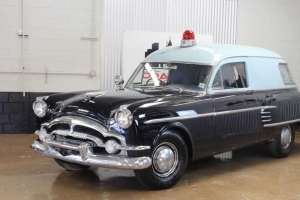Super Rare 1954 Packard Henney Jr Ambulance Needs A Loving Home