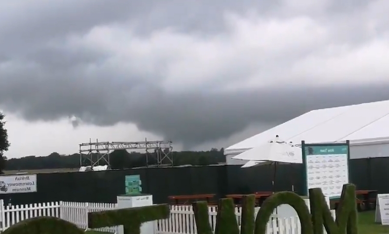 Mini tornado hits Manchester area