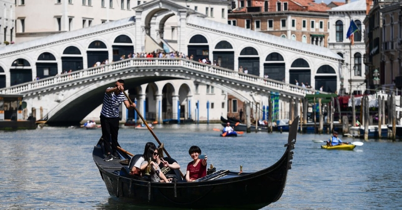 Morning Coffee Results in a $1,000 Fine and Expulsion From Venice