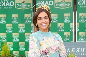 'Effortlessly elegant' Local schoolteacher crowned best dressed at Kerrygold Irish Oaks Racing Festival