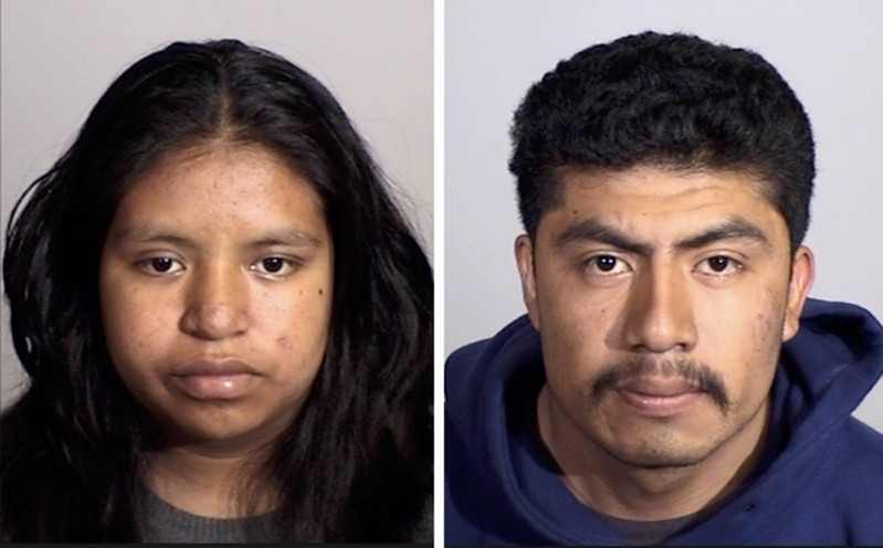 Oxnard woman and boyfriend are arrested on suspicion of strangling newborn