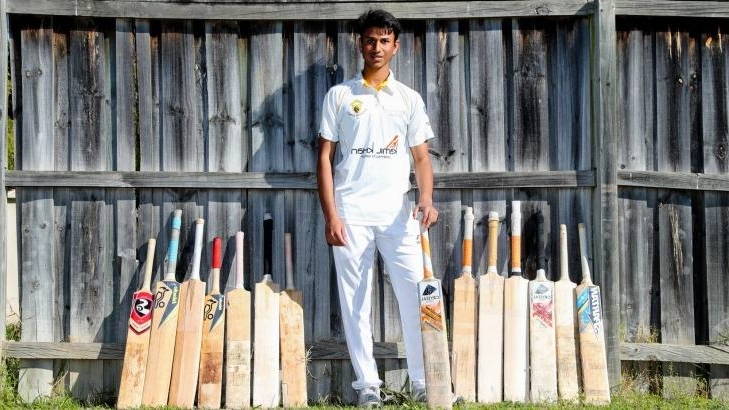 The western Sydney teen who is eight people in the eyes of Cricket Australia