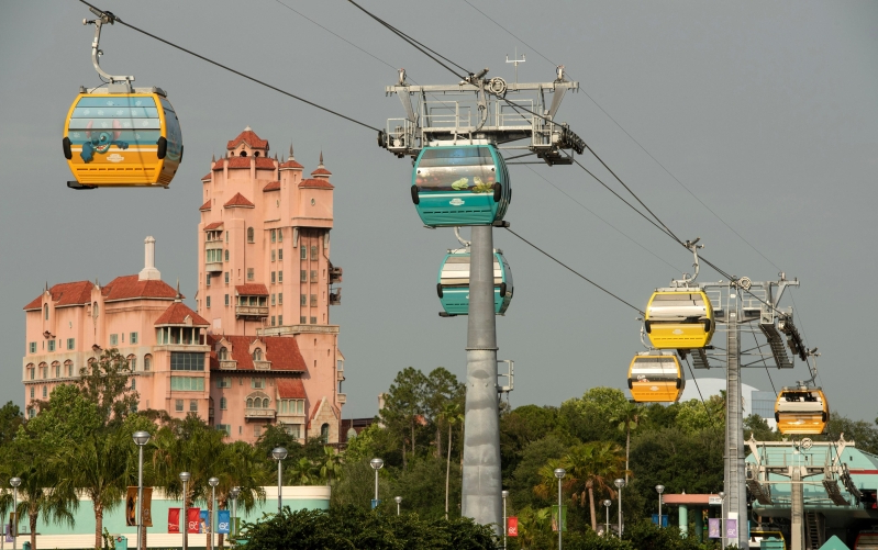 Walt Disney World announces opening date for Disney Skyliner, new aerial transportation system