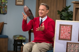 Entertainment: Watch Tom Hanks as Mister Rogers in 'A