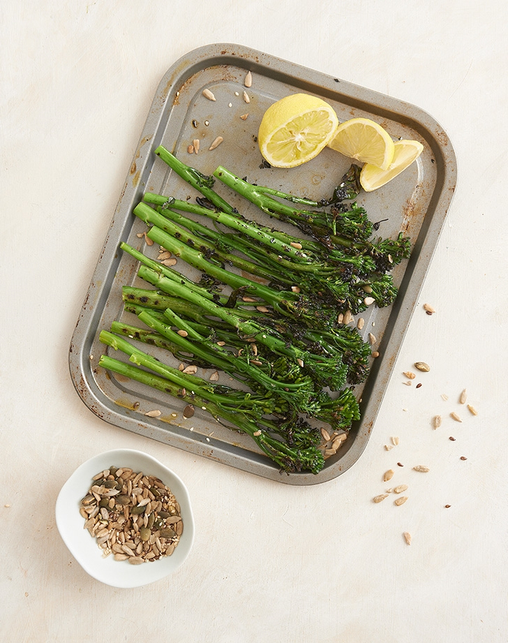 Zesty Chargrilled Broccolini