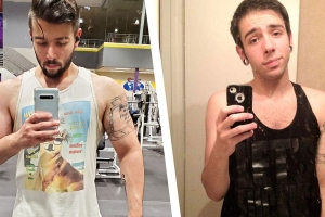 The Two Basic Changes That Helped This Guy Get Jacked
