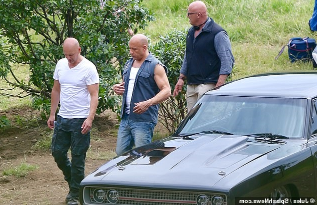 Vin Diesel's Fast And Furious body double falls 30ft onto his head in horrific stunt accident leaving the Hollywood star tearful and in 'total shock' as crew at Warner Brothers UK studio 'fear the worst'