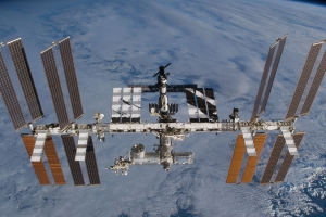 Trio of astronauts safely arrive at the International Space Station