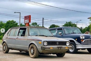 Did You Know Checker Made A Volkswagen Rabbit Taxi Prototype?