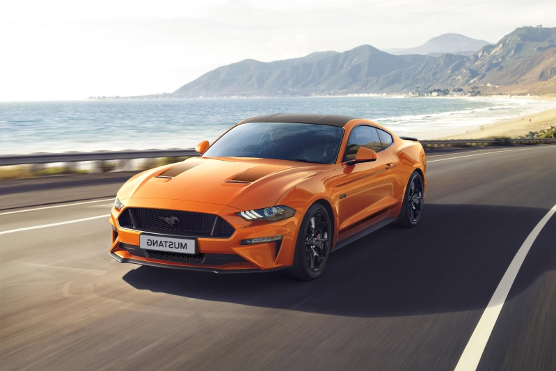 Special edition Ford Mustang 55 announced