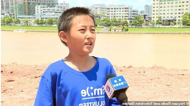 Science-loving boy, 10, discovers a nest of 11 dinosaur eggs after spotting a 'strange stone' in the ground while playing in a Chinese city