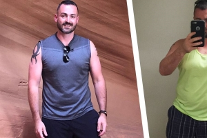 One Small Addition to This Guy's Lunch Routine Helped Him Lose 70 Pounds