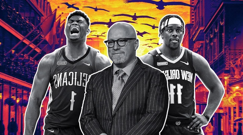 Sport: How David Griffin Rebuilt the Pelicans and His World