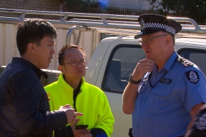 Police called after Perth construction job scuffle
