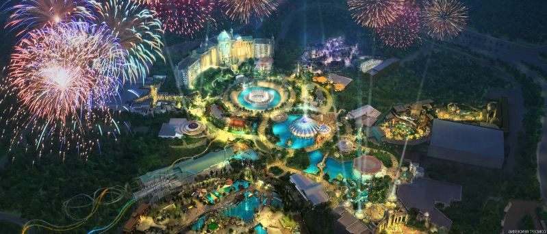 Universal Orlando is building fourth theme park called Epic Universe