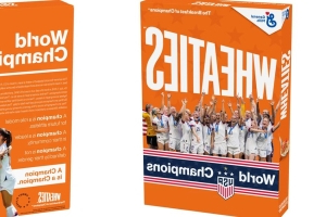 The Women's National Soccer Team Just Scored Their Own Wheaties Box