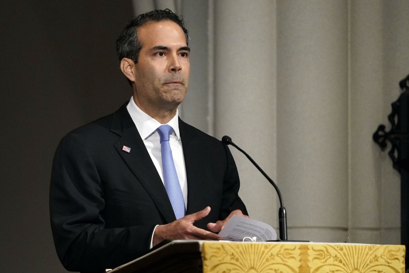 George P. Bush denounces 'white terrorism' after El Paso shooting