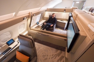 Singapore Airlines Adds Free In-Flight Wi-Fi for First Class Passengers