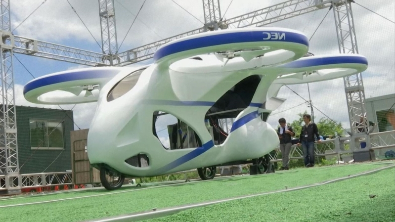 Japan successfully tests flying car