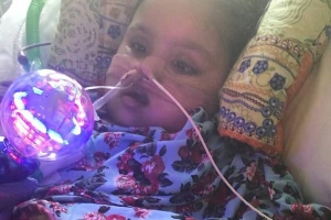 'We won't let her die': Parents battling to save their little girl, five, who the NHS says has no chance of survival bid to raise £400,000 to win High Court fight and take her to Italy for treatment