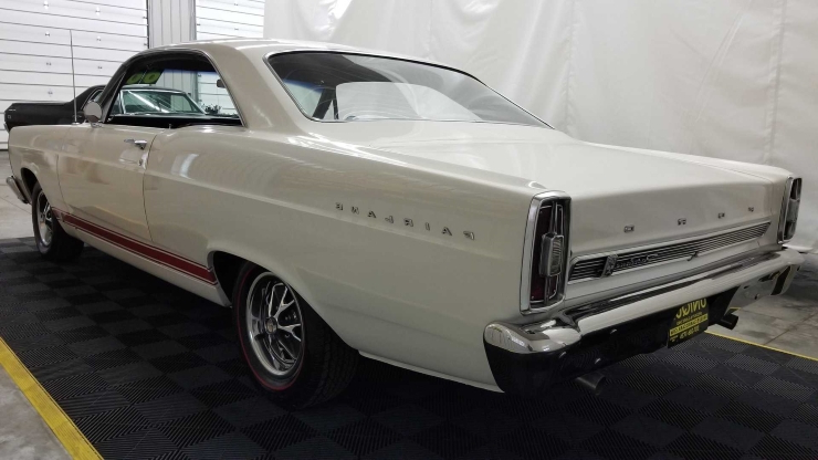 Enthusiasts: You Could Own This Solid 1966 Ford Fairlane GTA