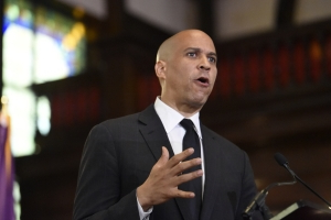 Cory Booker Speaks About White Supremacy and Gun Violence in Charleston