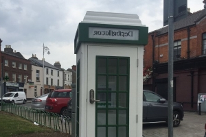 Dublin to get its first ever 'phone box' defibrillator in Stoneybatter