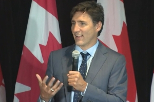 Trudeau visits St. John's for Liberal Party fundraiser ahead of fall election