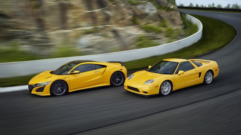 News 2020 Acura Nsx Now Available In Yellow Just Like The Original