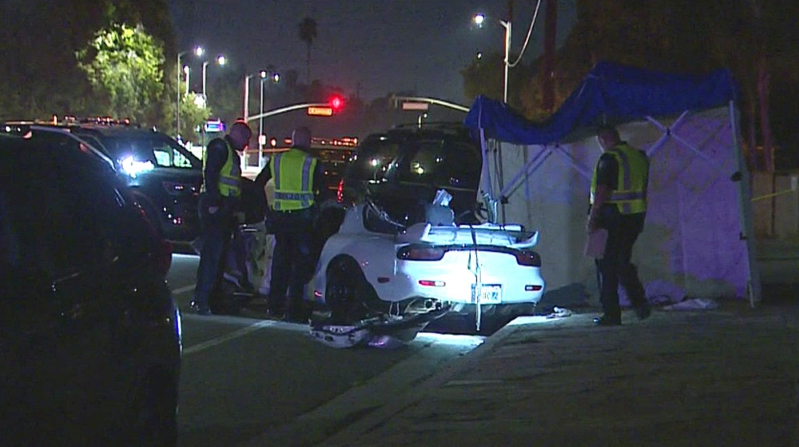 Crime: Possible Street Race Ends With Deadly Crash In Mission Hills