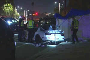 Possible Street Race Ends With Deadly Crash In Mission Hills