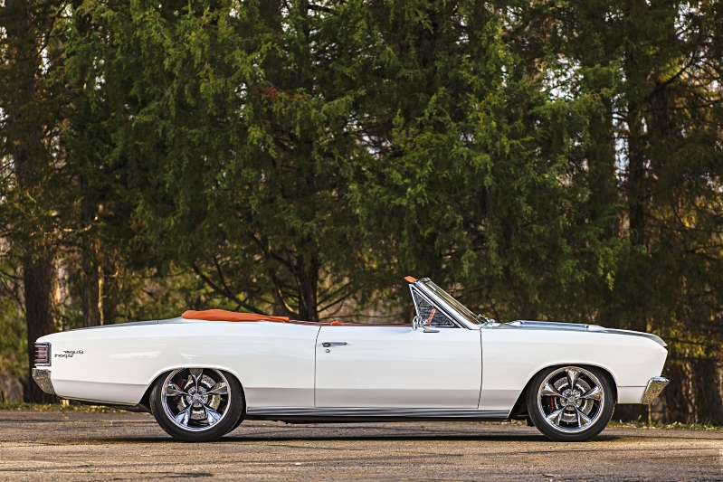 Enthusiasts: This dazzling '67 Chevelle SS was rescued and perfected
