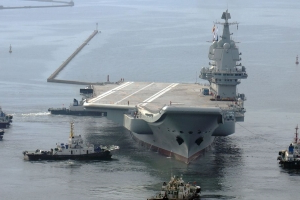 China's First Homemade Aircraft Carrier Is Having Some Problems
