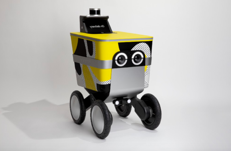 Technology: Postmates to test a sidewalk delivery robot